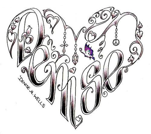 Tattoo Designs Heart: CR Tattoos Design: Small Heart Tattoo Designs