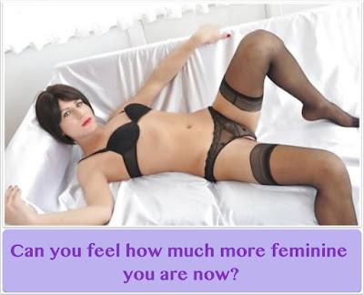 Feeling feminine