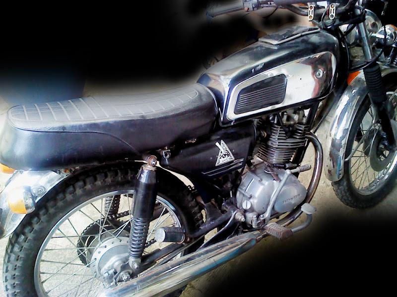 HONDA GL100 1983 Modif CB custom title=
