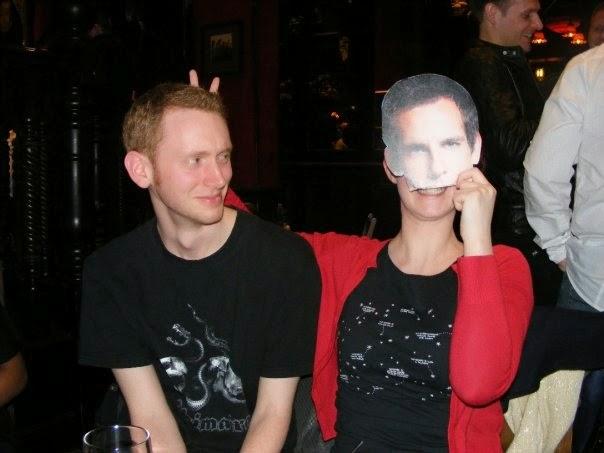 Steve with Ben Stiller