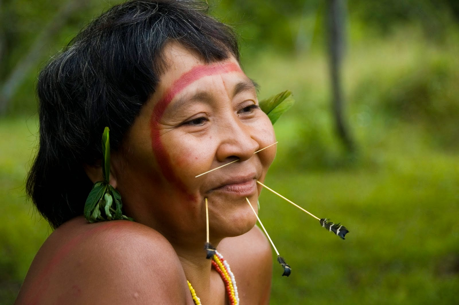 Artesanato Japoneses ~ Tribo Yanomami