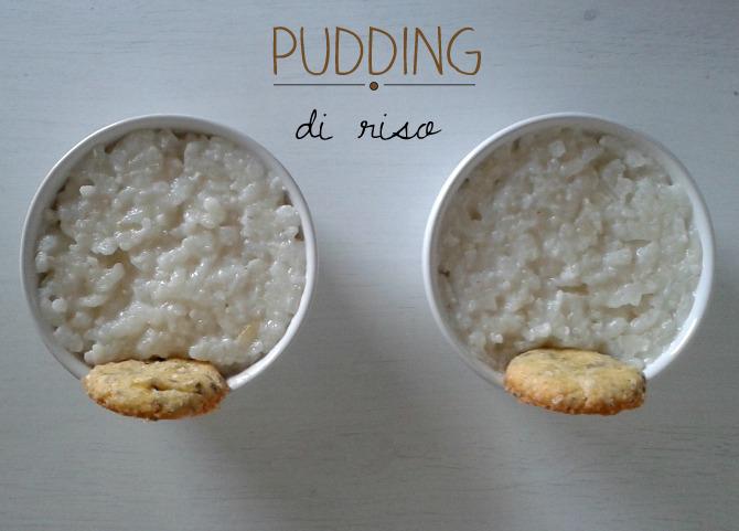 coppette di riso - rice pudding