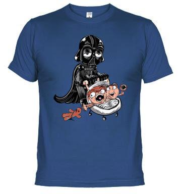 Camiseta Friki Vader papi