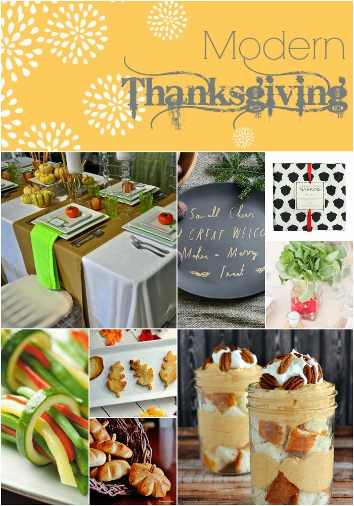 Modern Thanksgiving collage