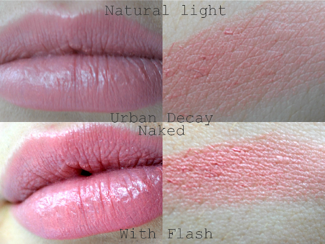 Urban Decay - Revolution Lipstick - Naked - Review - swatch