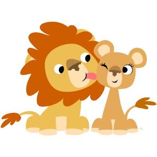 dibujo de leon para imprimir