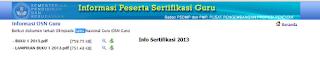 Verifikasi Data Peserta Sertifikasi Guru 2013 pict