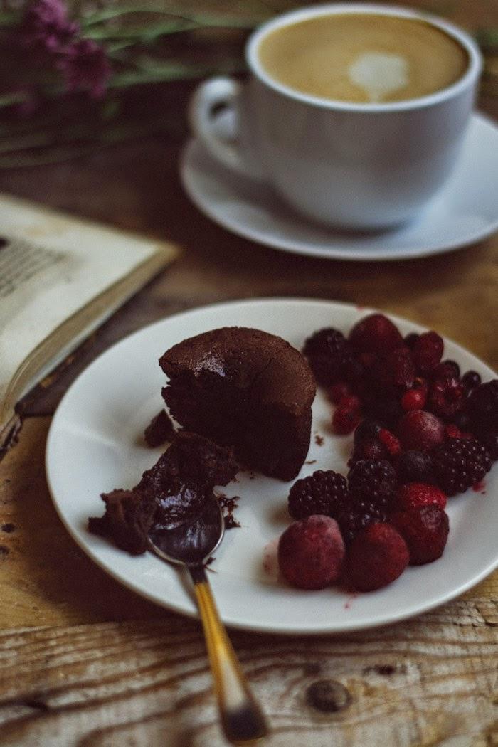 Receta de coulant de chocolate