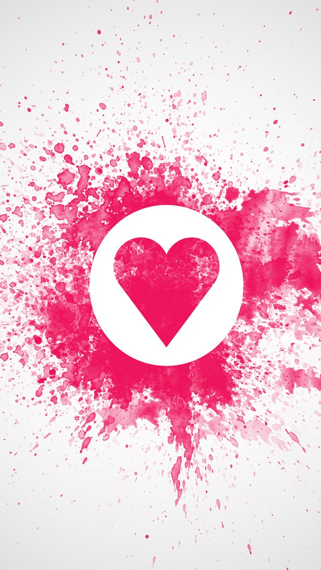 Valentines Day Love Heart HD Wallpapers for iPhone 5 | Wallpapers ...