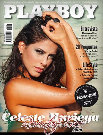Celeste Muriega - Playboy Argentina - Janeiro 2015