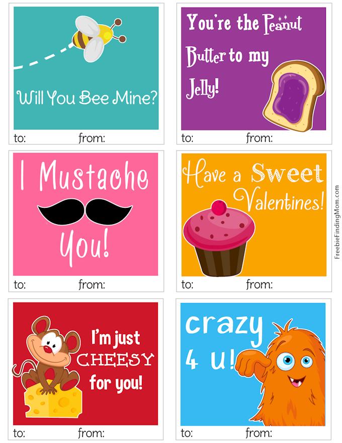 Polka Dots And Pig Kisses Ten Free Valentine Print Offs – Free Valentine Card to Print