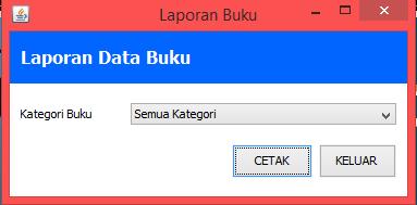 Aplikasi Perpustakaan Dengan Java
