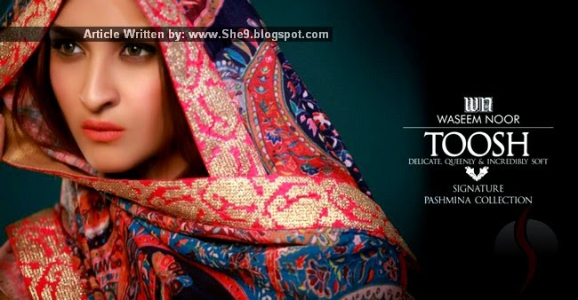 Toosh Signature Pashmina Collection 2014-2015