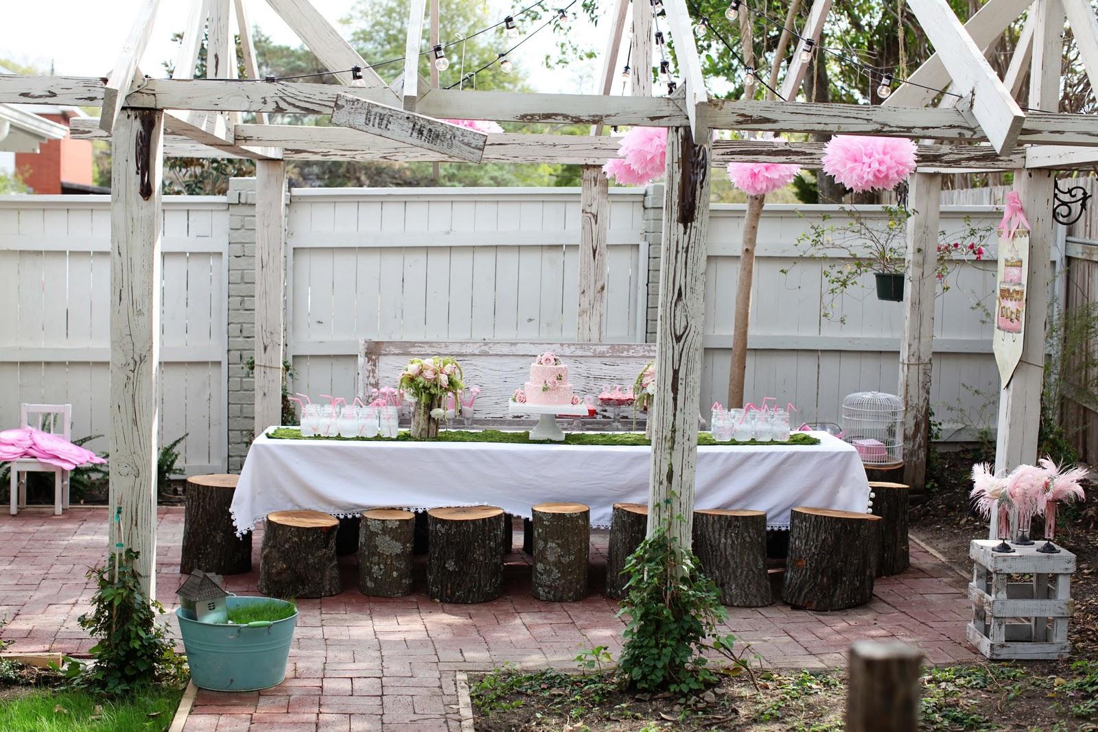 fairy garden party magnolia homes. Black Bedroom Furniture Sets. Home Design Ideas