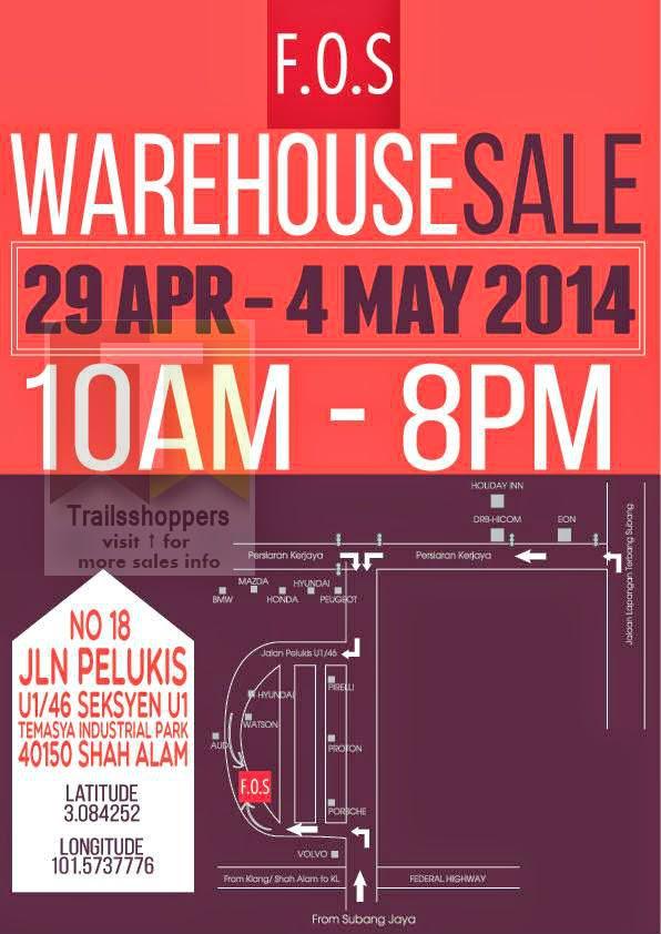 F.O.S Warehouse Sale Shah Alam