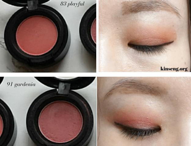 Aritaum Mono Eyes eyeshadow review swatch swatches, Korean eyeshadow review, 83 Playful 91 Gradenia 92 Cozy Touch 105 Vintage Look 111 Wannabe Cool