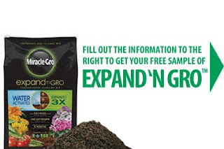 Free Miracle-Gro Expand 'n Gro