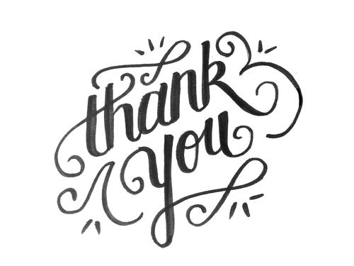 Een bedankje | Gedachtes