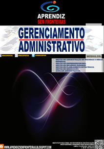 APOSTILA DE GERENCIAMENTO ADMINSITRATIVO