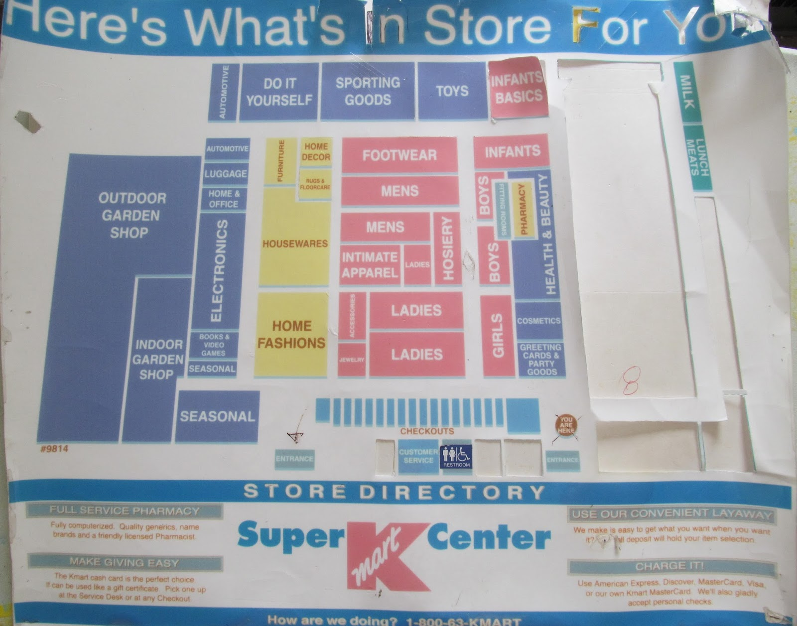 Trip to the mall find old super kmart center floor map find old super kmart center floor map gumiabroncs Choice Image