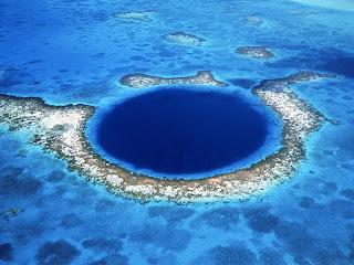 blue hole sea