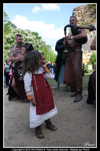 Compagnie Prima Nocta au festival médiéval de Sedan