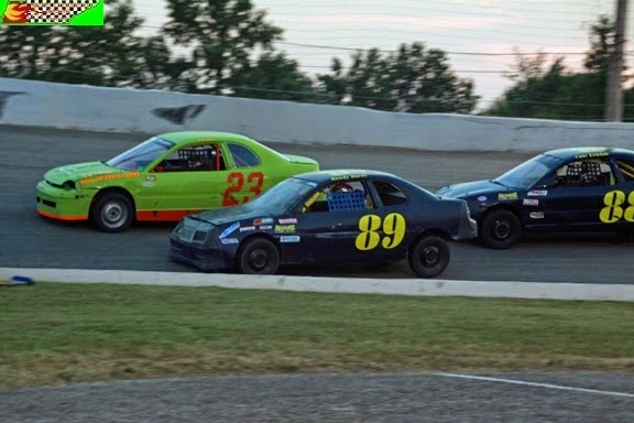 Highland Rim Speedway 7/12/2014 (Steven Luboniecki photo for Middle Tennessee Racing Scene)