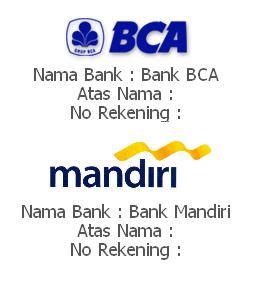 REK BCA & MANDIRI