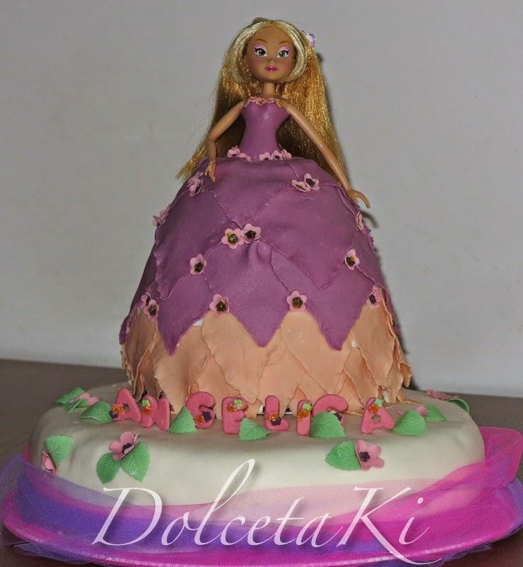 torta vestito barbie