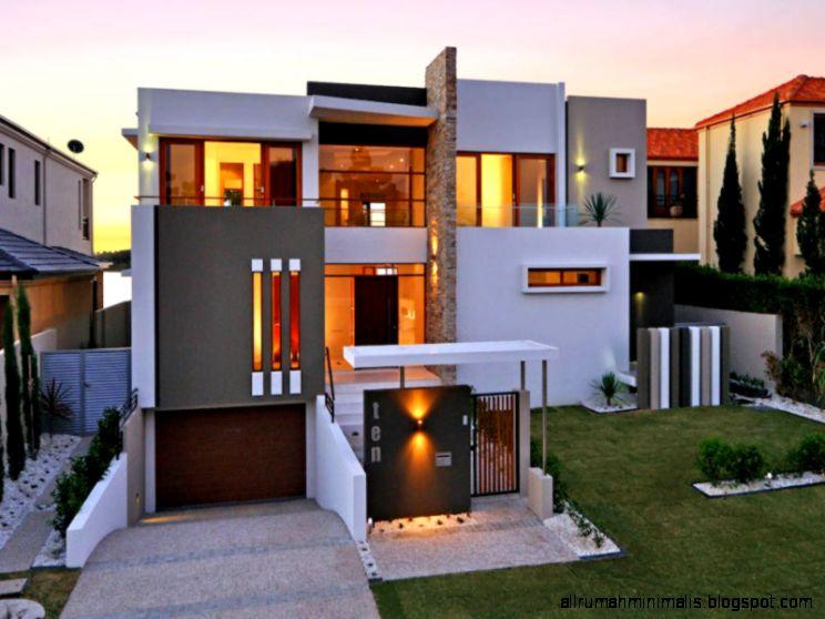 Inspirasi Desain Fasad Untuk Rumah Minimalis Sederhana  Jual