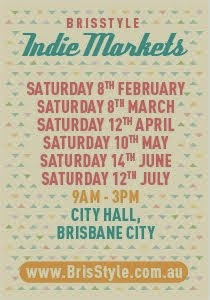 KUBERSTORE will be at the next BrisStyle Indie Market on Saturday 12th April