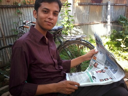 """reading newspaper as a habit """"india still lives in villages where pace of life is slow and people have enough  time to peruse the day's paper , by promoting reading habits from."""