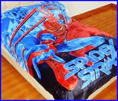 Grosir Selimut New Seasons Blanket Spiderman Strike