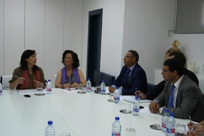 Una delegación de Marruecos se interesa por la innovación de la artesanía valenciana