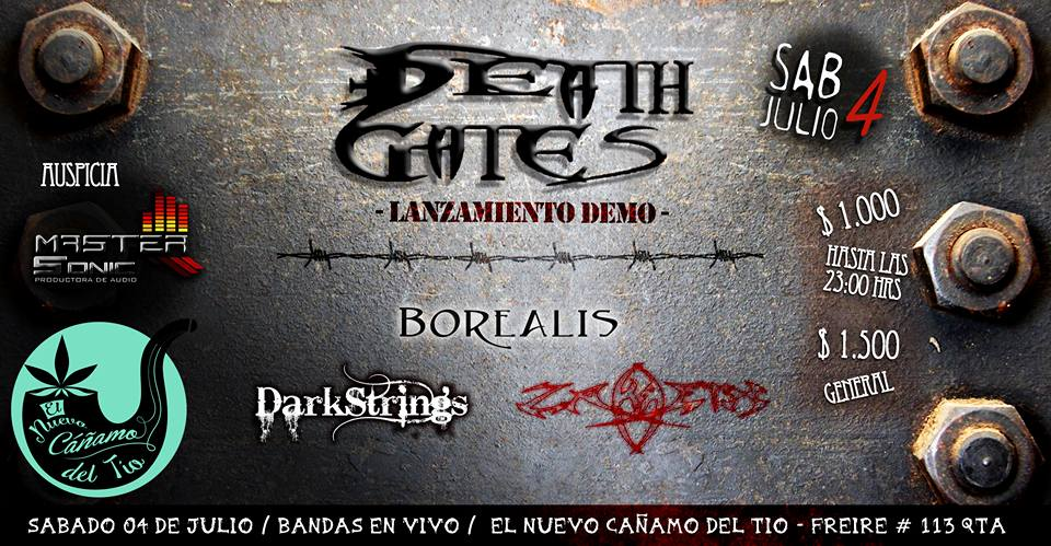 Lanzamiento demo de Death Gates