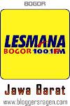 Lesmana FM 100.1 MHz Bogor