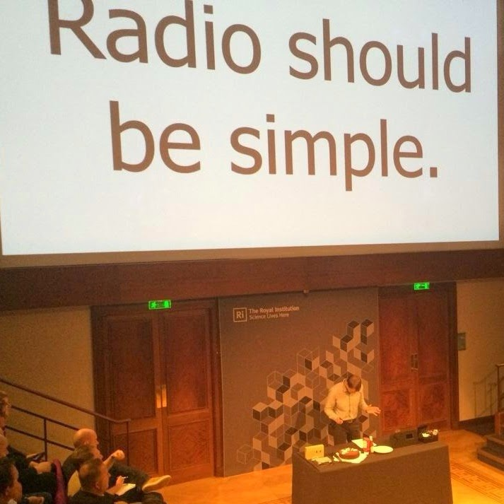 The best radio is a simple one