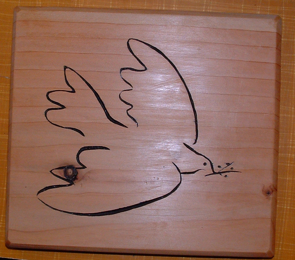 Peace Dove Picasso Project completed: picasso's dove of peace sketch ...
