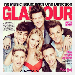Rosie Huntington-Whiteley compares One Direction to cute puppies