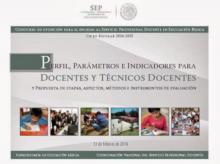 SEP - México - Concurso de Oposición para el Ingreso al Servicio Profesional Docente en Educ Básica