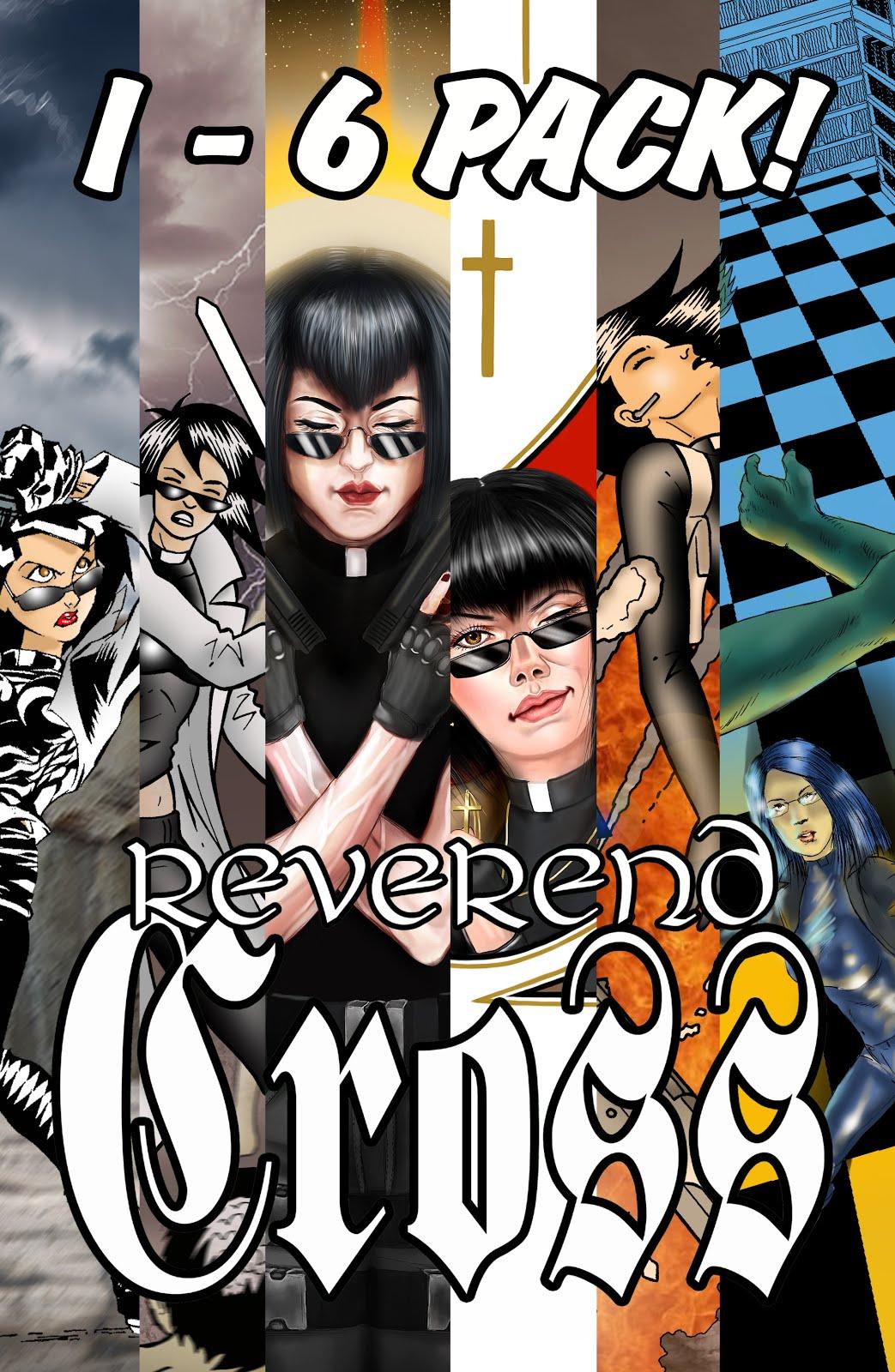Buy REVEREND CROSS issues 1 - 6 value packs below!