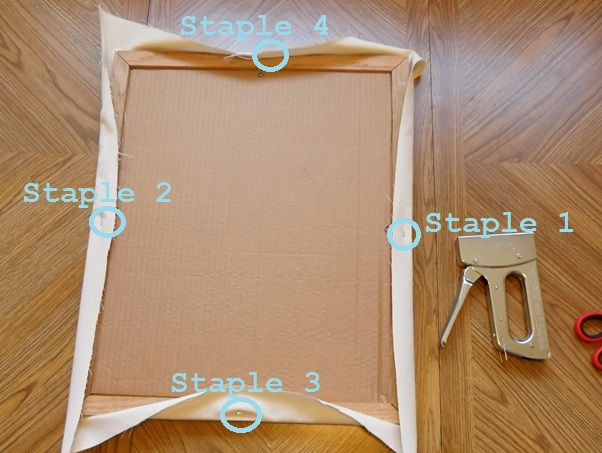 recycled frame memo board