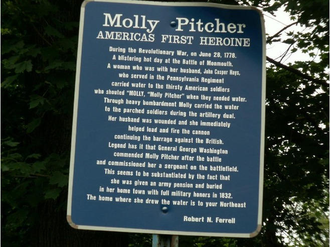 Molly Pitcher Quotes She Said Quotesgram