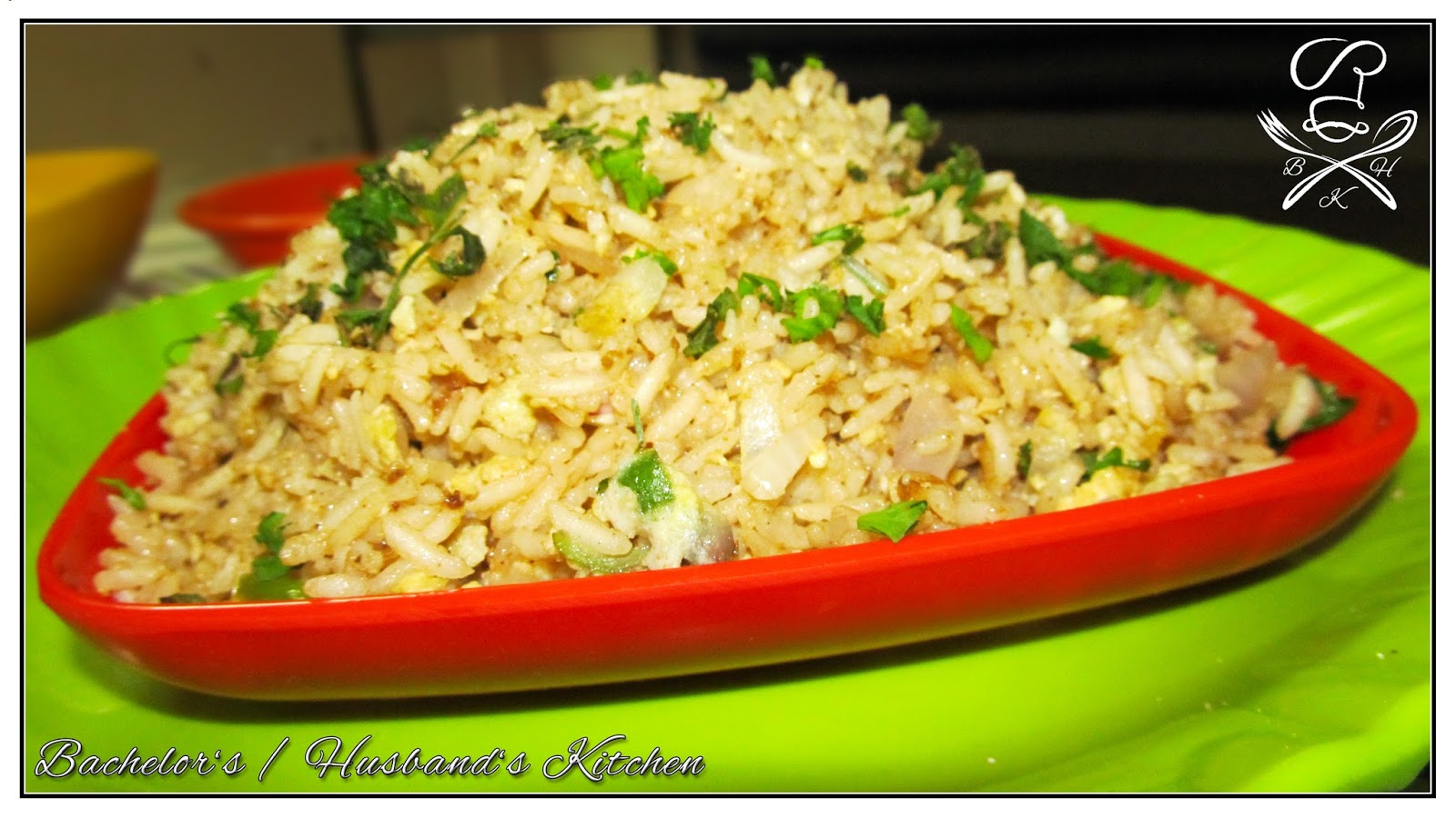 how to cook simple fried rice at home