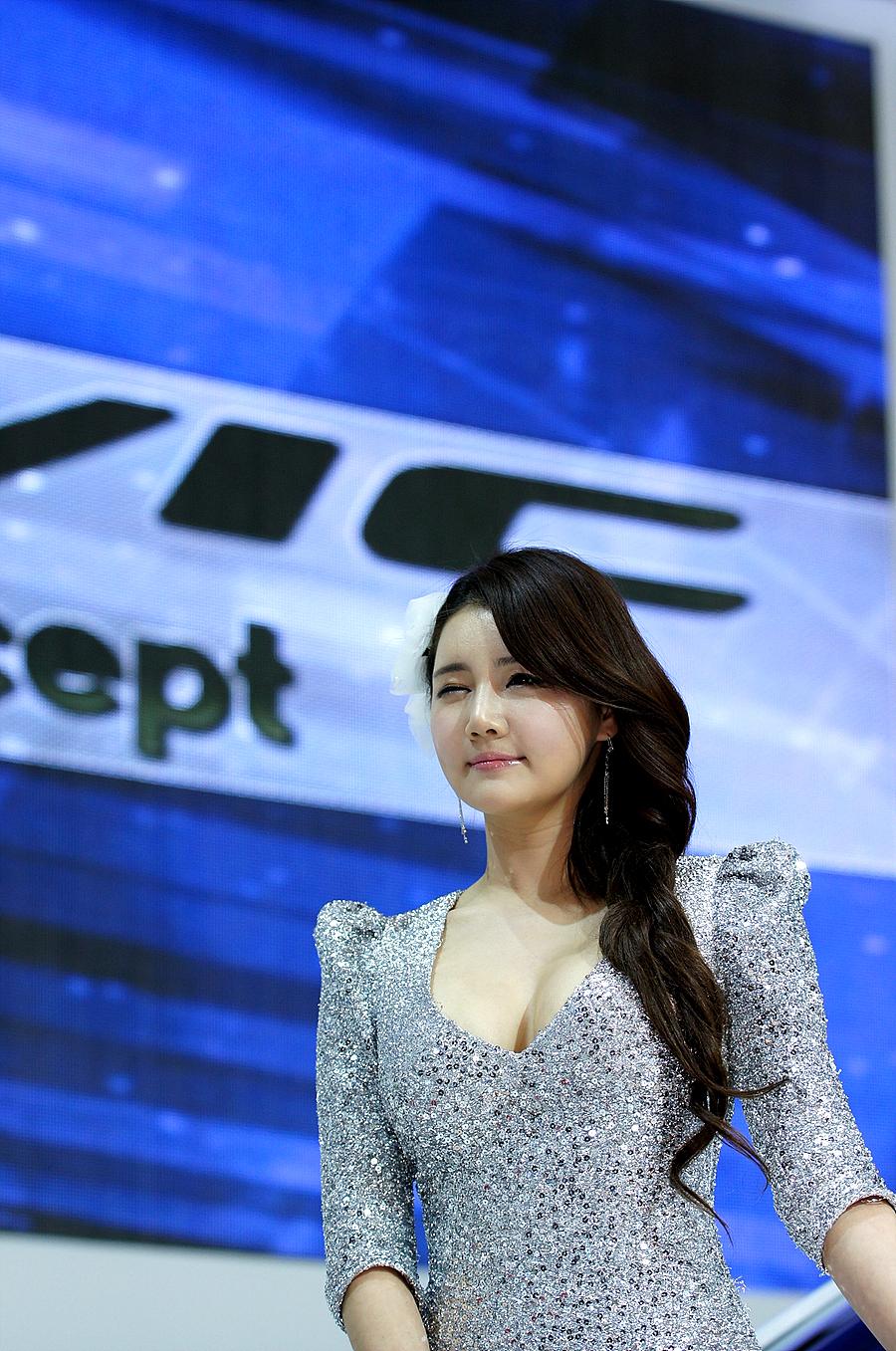 Han Ga Eun Seoul Motor Show 2011 Tiếp Picture Line Girl