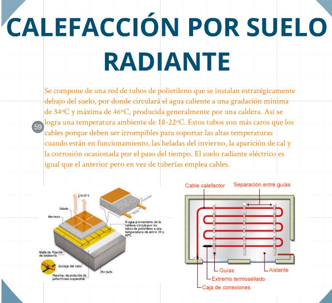 Aprendiendo tecnolog a en la merced marco calefacci n - Como instalar suelo radiante ...