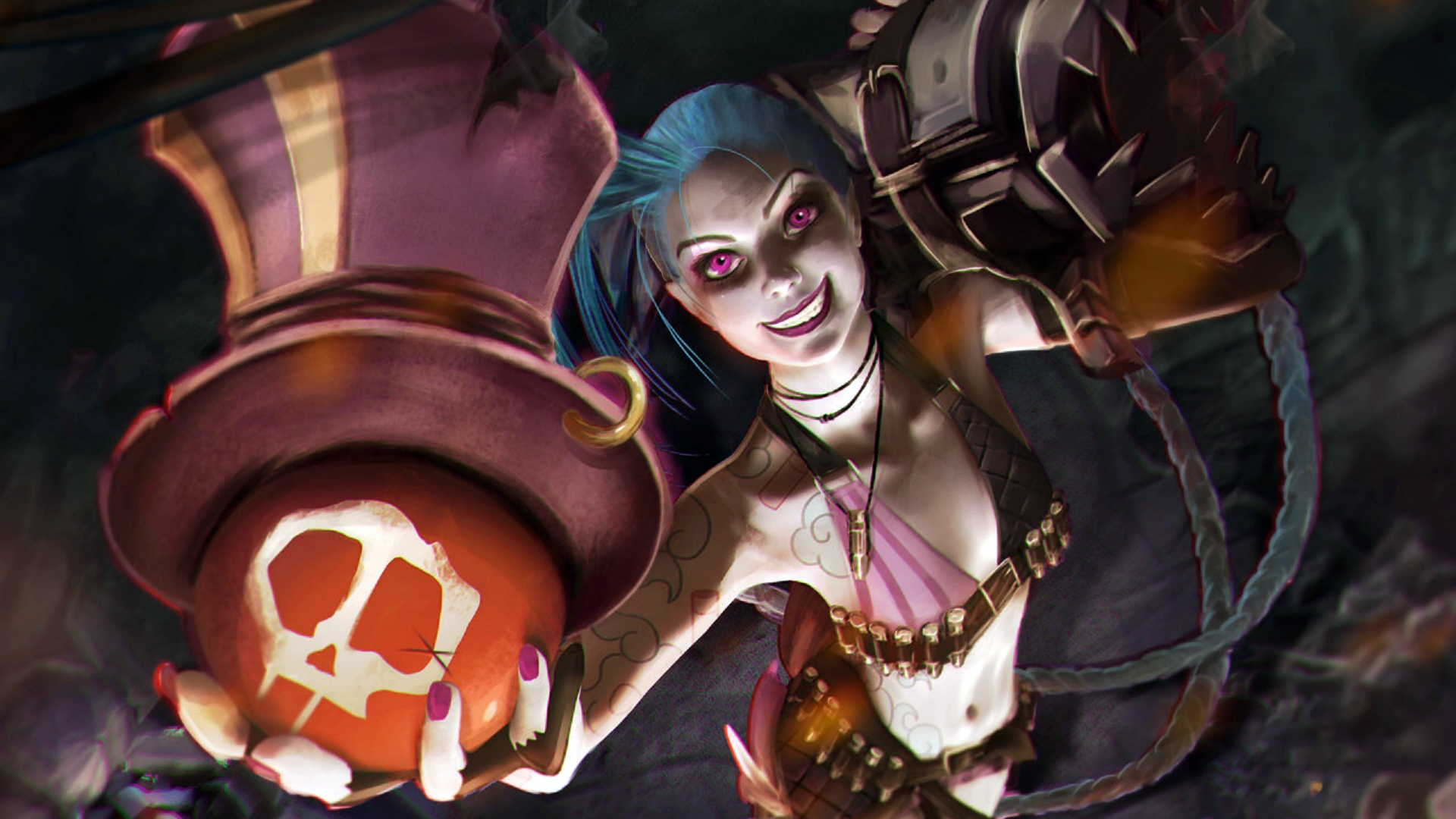 Jinx Wallpaper Jinx x r HD Wallpaper