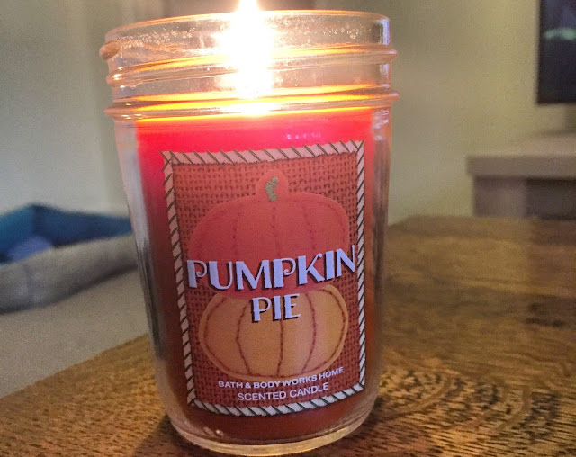 Bath and Body Works Pumpkin Pie Candle Review