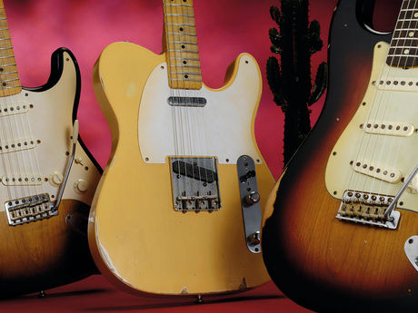 How To Age Guitars Telecasters Stratocasters Les Pauls