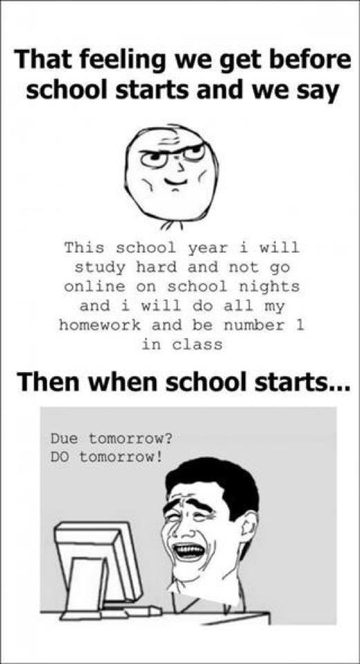 Funny Meme Quotes About School : Discover mass of funny facebook status and jokes